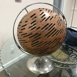 Other - WOODEN GLOBE